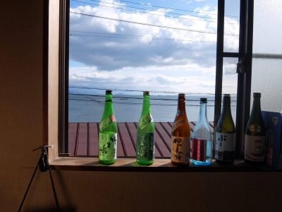 琵琶湖を眺めながら漁の余韻を感じます